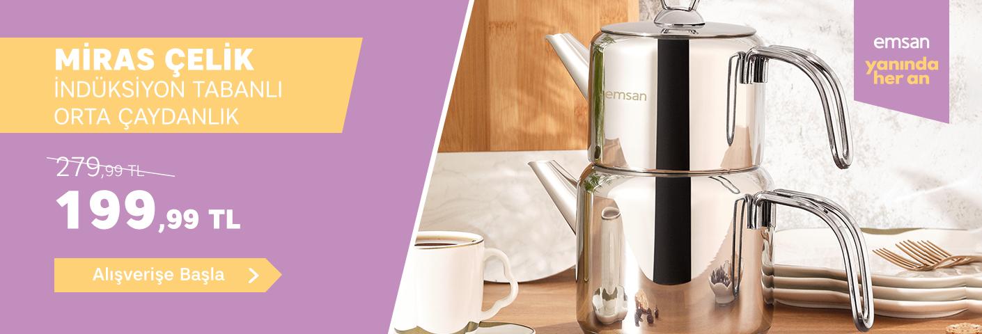 Miras Çaydanlık Takimi - Ürün