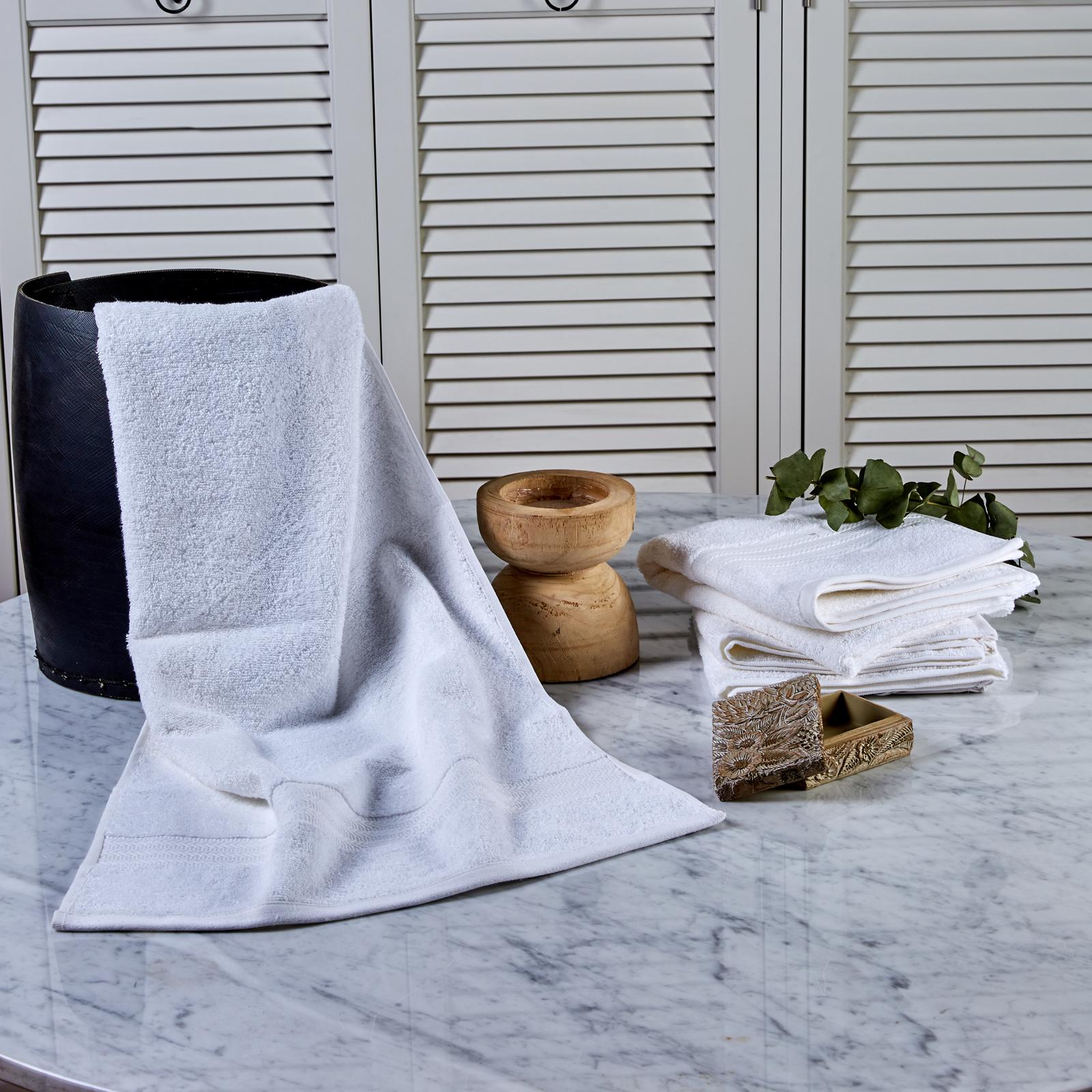 Karaca Home Charm Exclusive Beyaz 50x90 cm Yüz Havlusu