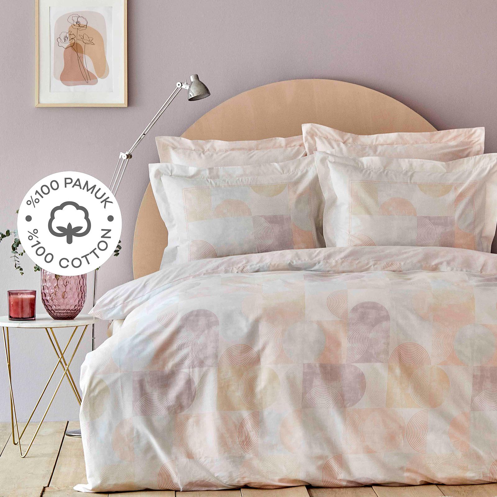 Karaca Home Dream Somon %100 Pamuk Tek Kişilik Nevresim Takımı