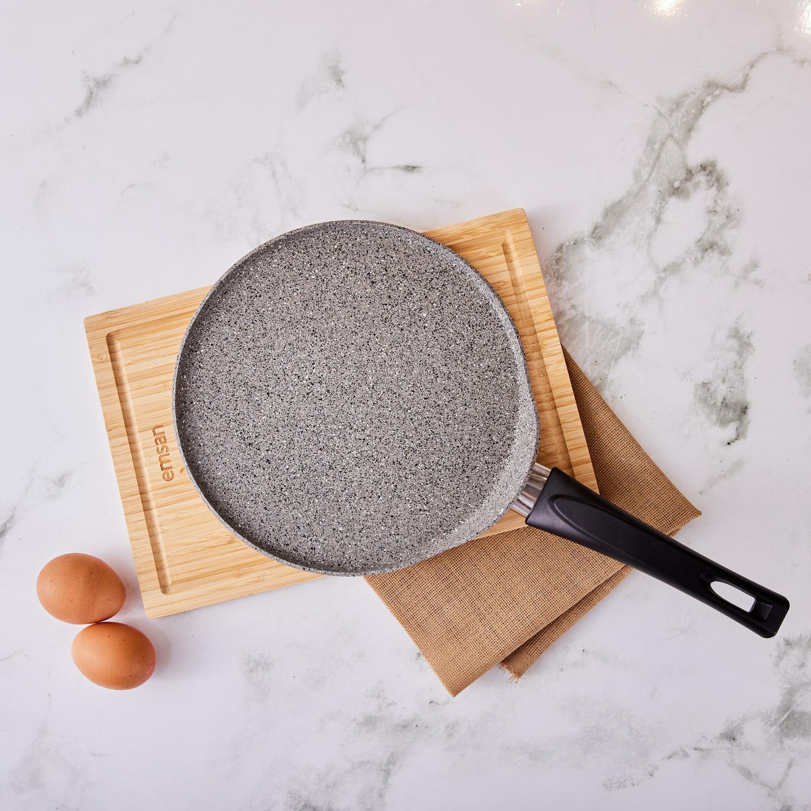Emsan Durable Granit 24 Cm Krep Tava