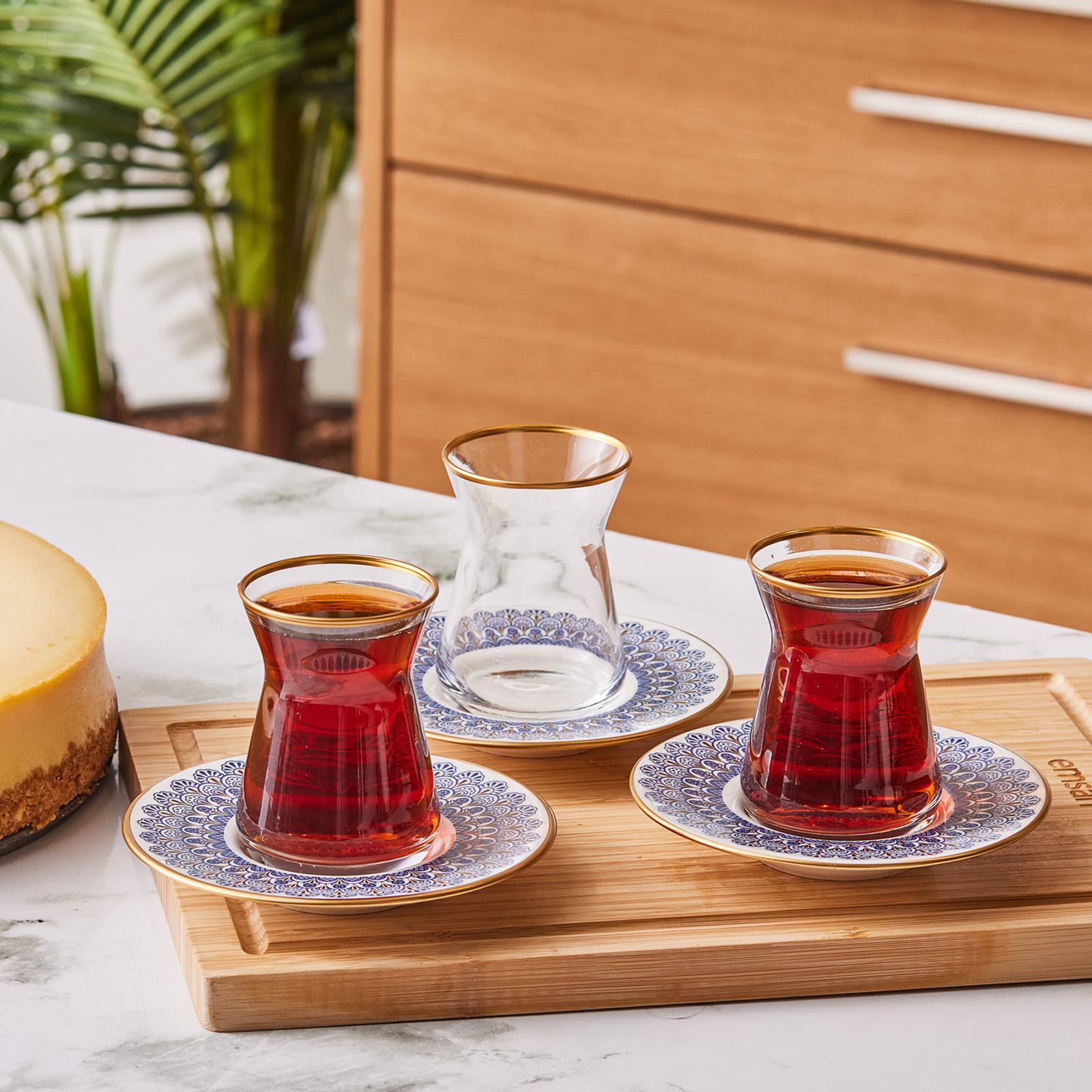 Emsan Leyal 12 Parça Çay Seti