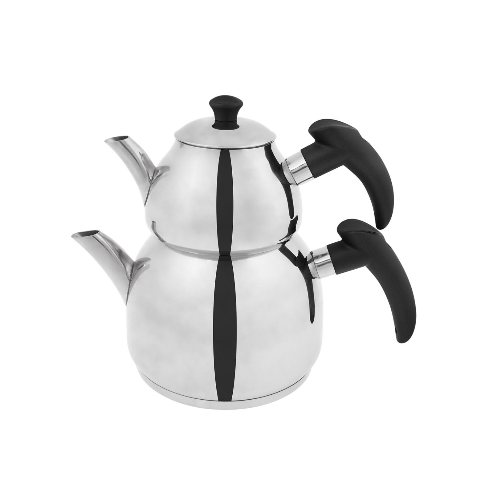 Emsan Helis Siyah Çaydanlık Takımı