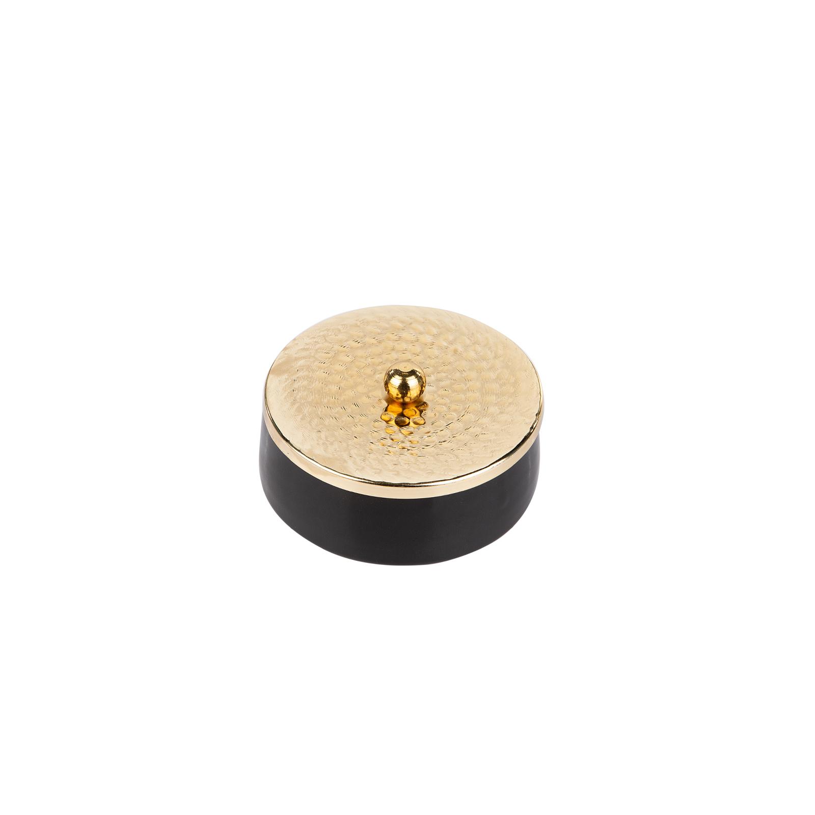 Karaca Gold Kapaklı Seramik Dekoratif Tabak