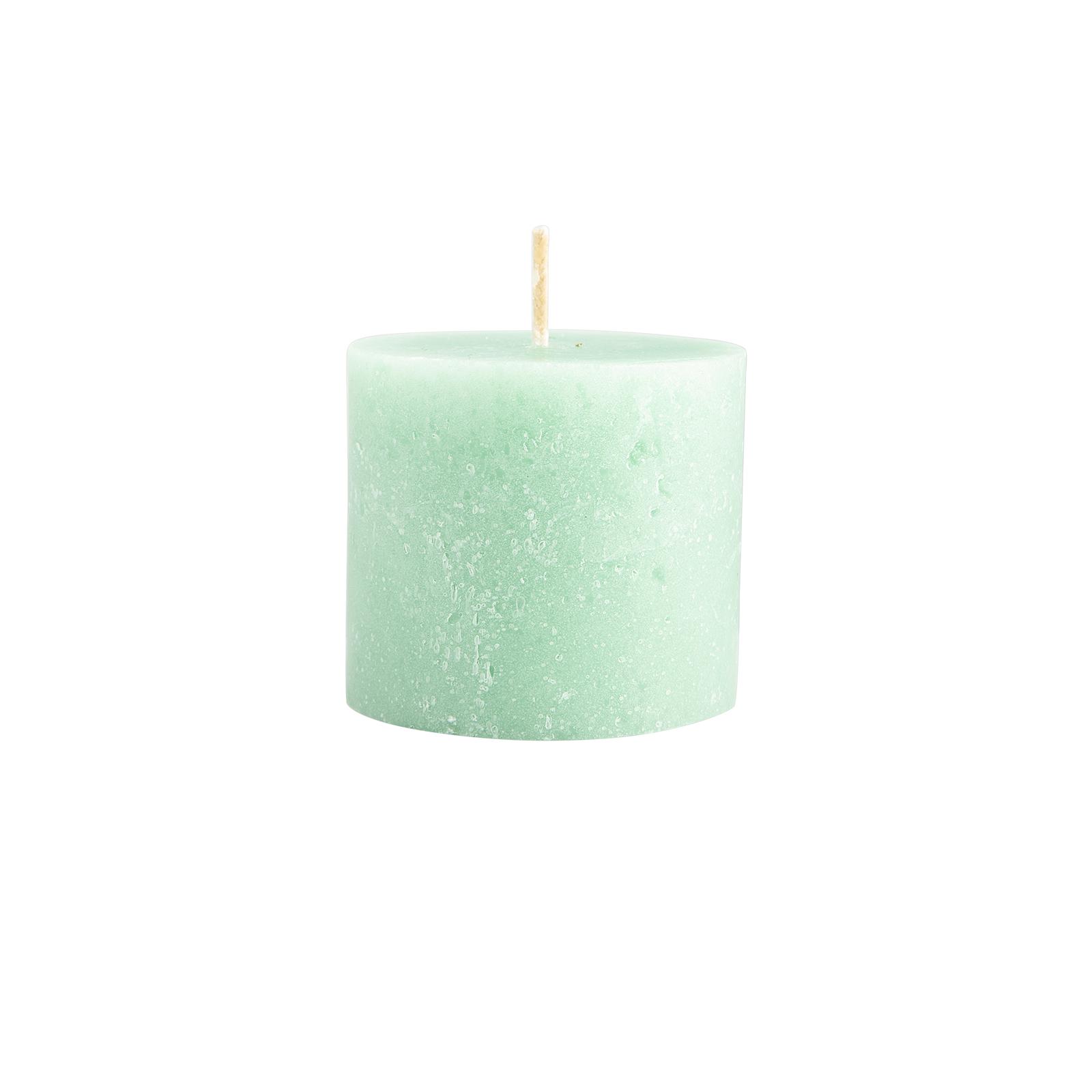 Karaca Andy Açık Yeşil Silindir Mum 6,5x6 cm