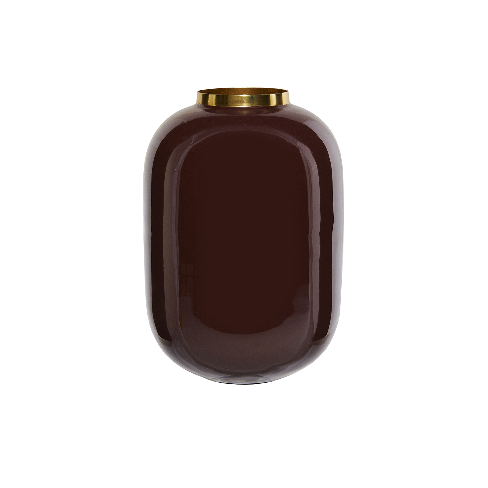 Karaca Glore Vazo 24,5x16,5 cm Mürdüm
