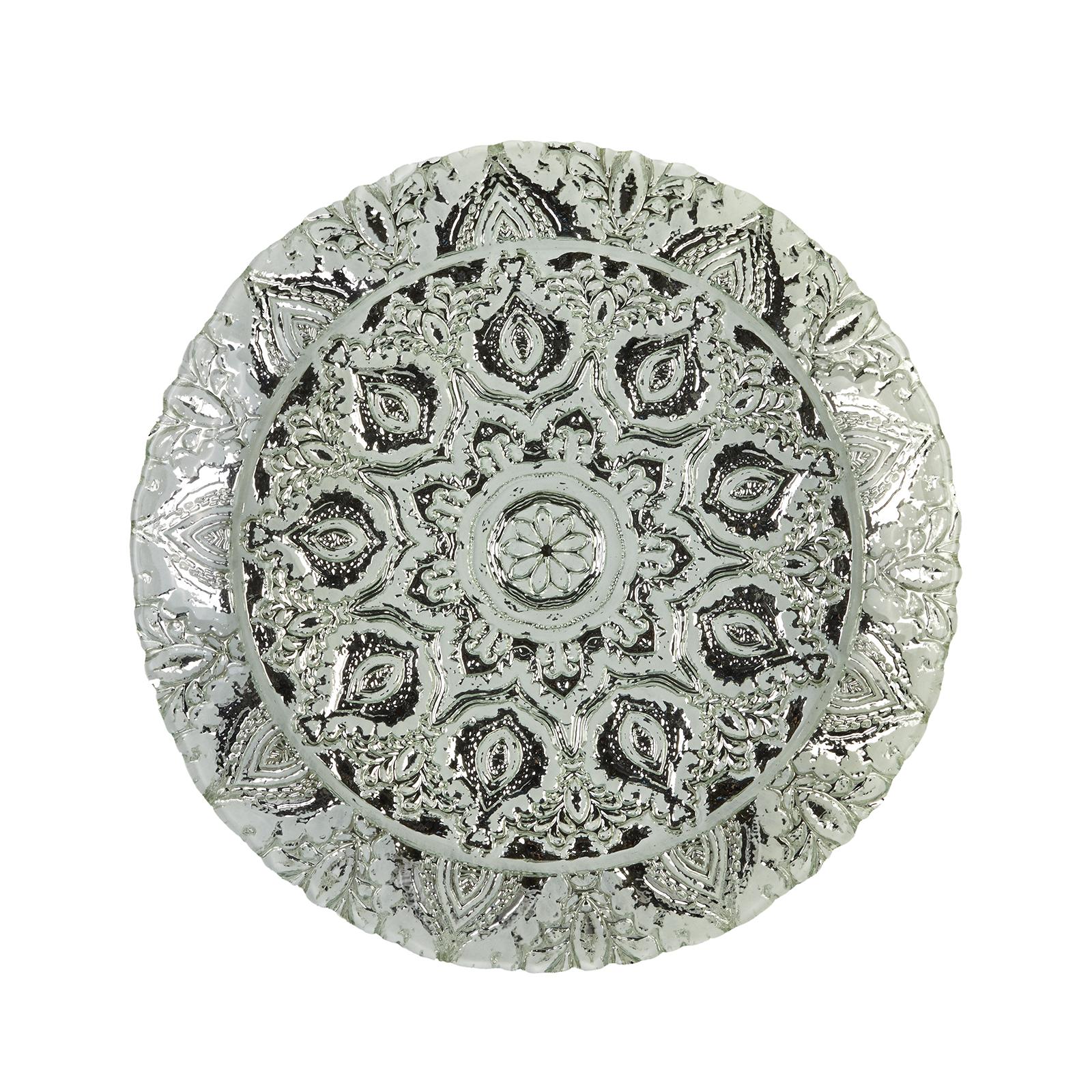 Karaca Anaıs Dekoratif Tepsi 40 cm Beyaz
