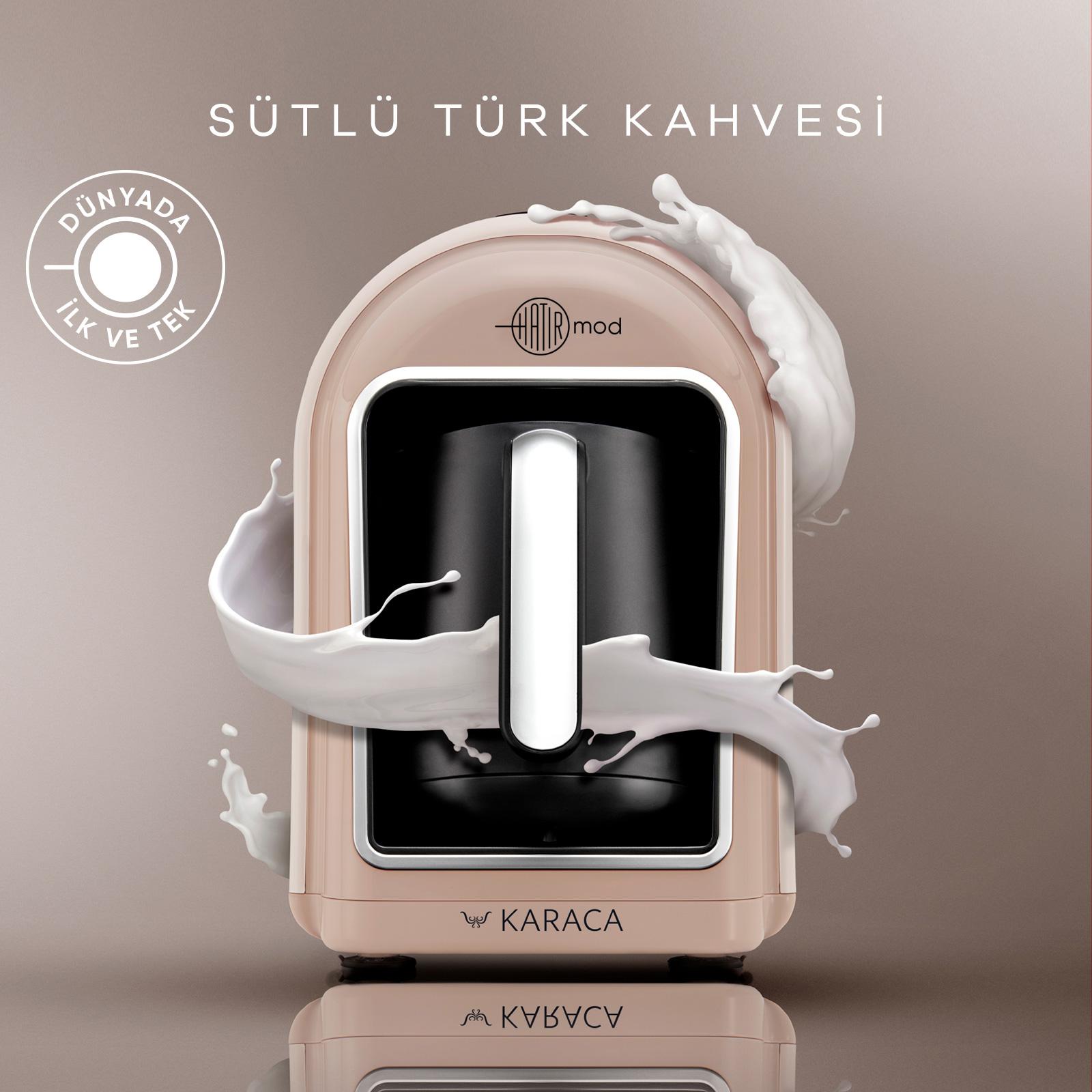 Karaca Hatır Mod Sütlü Türk Kahve Makinesi Latte