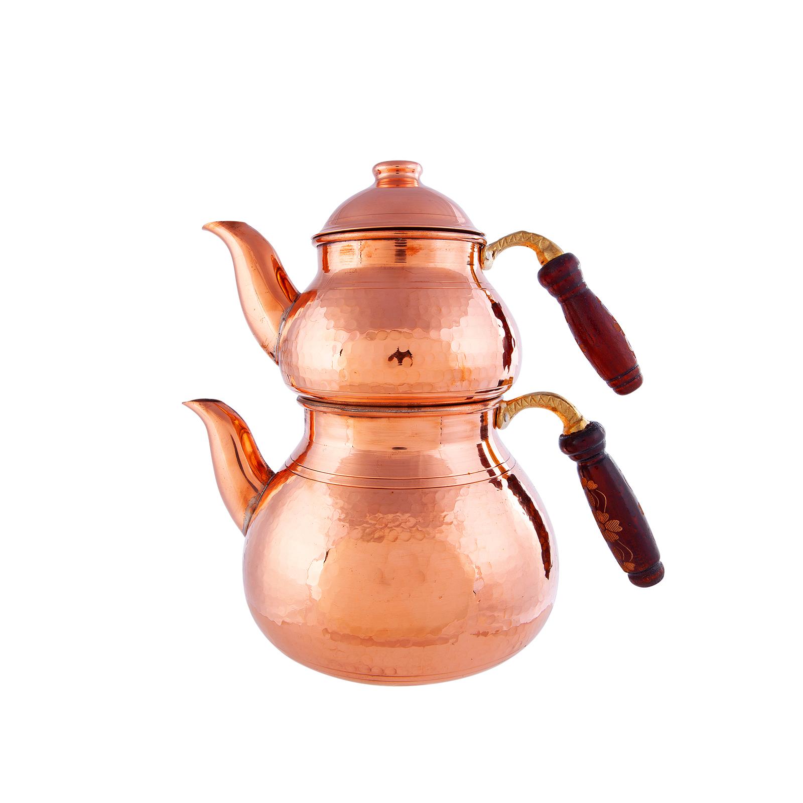 Karaca Antik Bakır New Çaydanlık Takımı