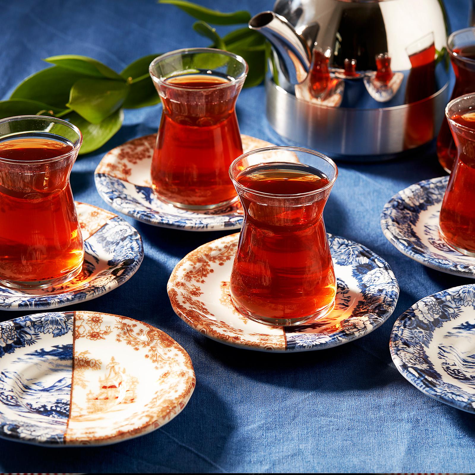 Karaca Blue Coffee 12 Parça Çay Seti