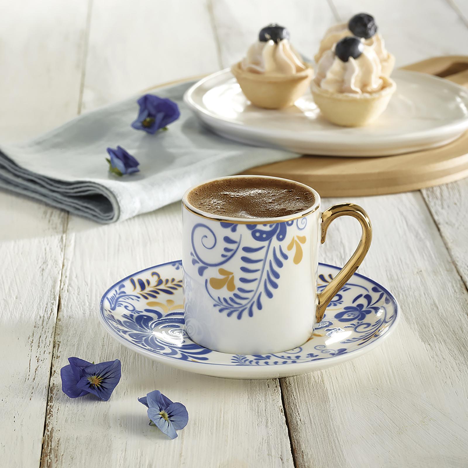 Karaca Celia 6 Kişilik Kahve Fincan Takımı