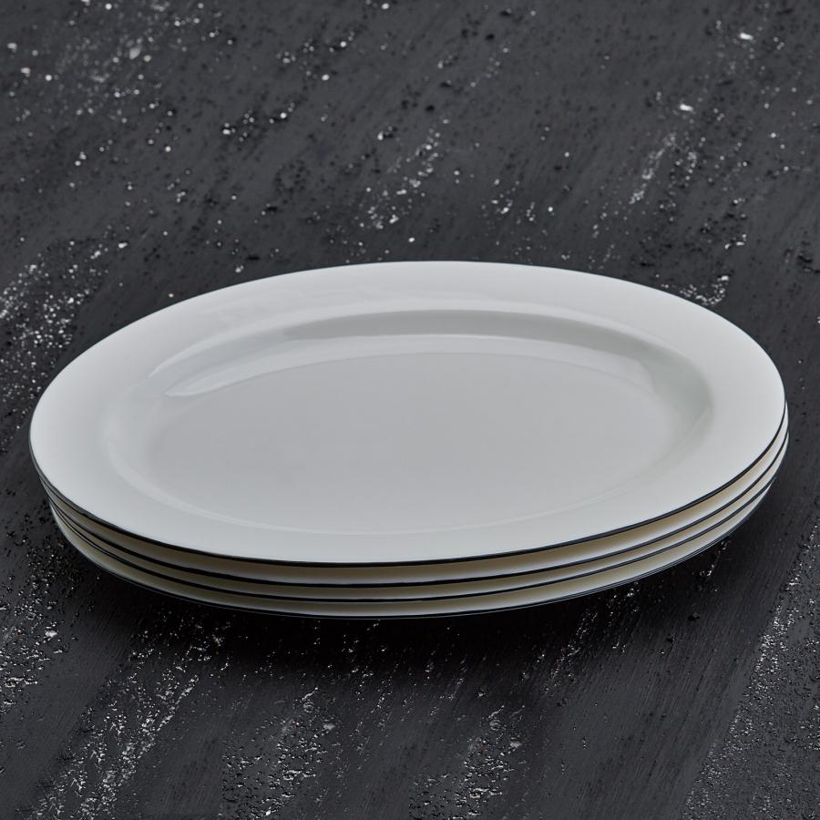 Karaca Elica 30 cm Oval Kayık Tabak