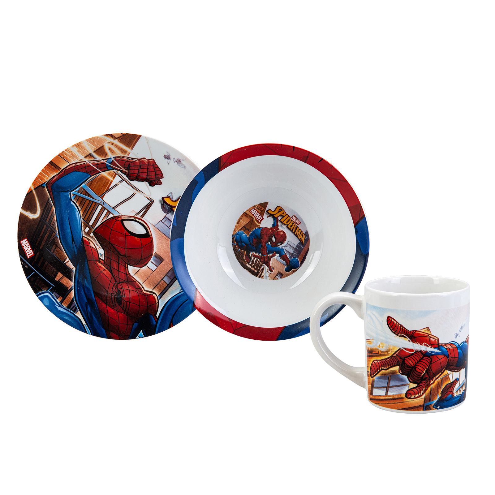 Karaca Spiderman 3 Parça Mama Seti