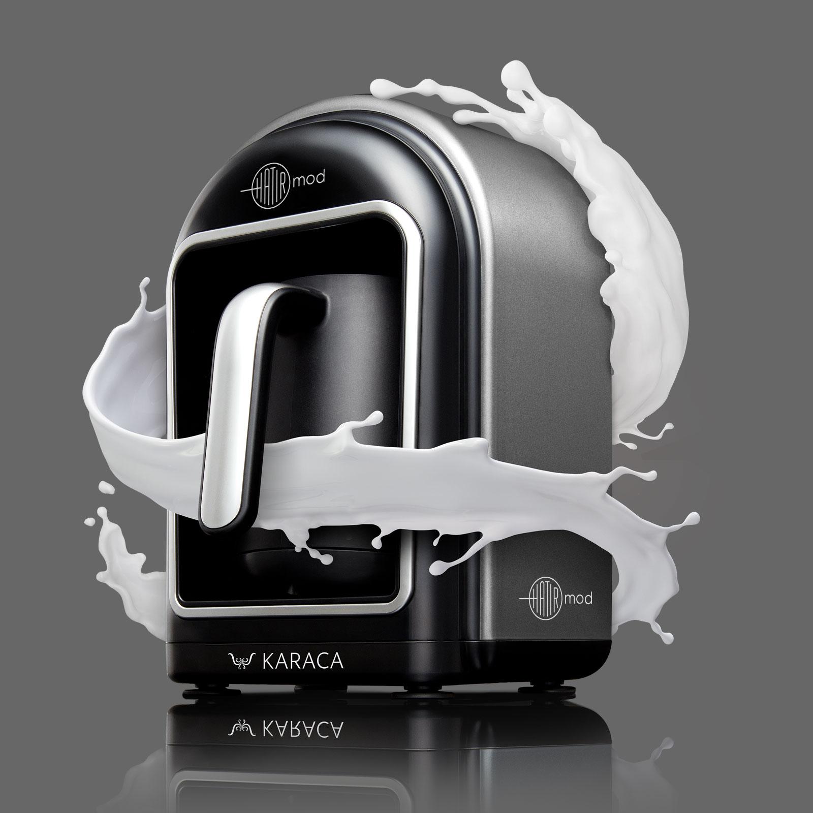 Karaca Hatır Mod Sütlü Türk Kahve Makinesi Antrasit