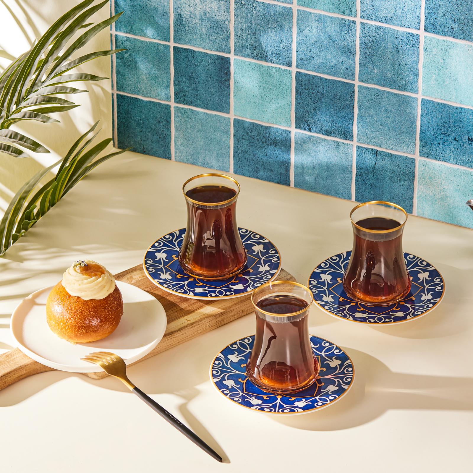Karaca Deep Sea 12 Parça 6 Kişilik Çay Seti