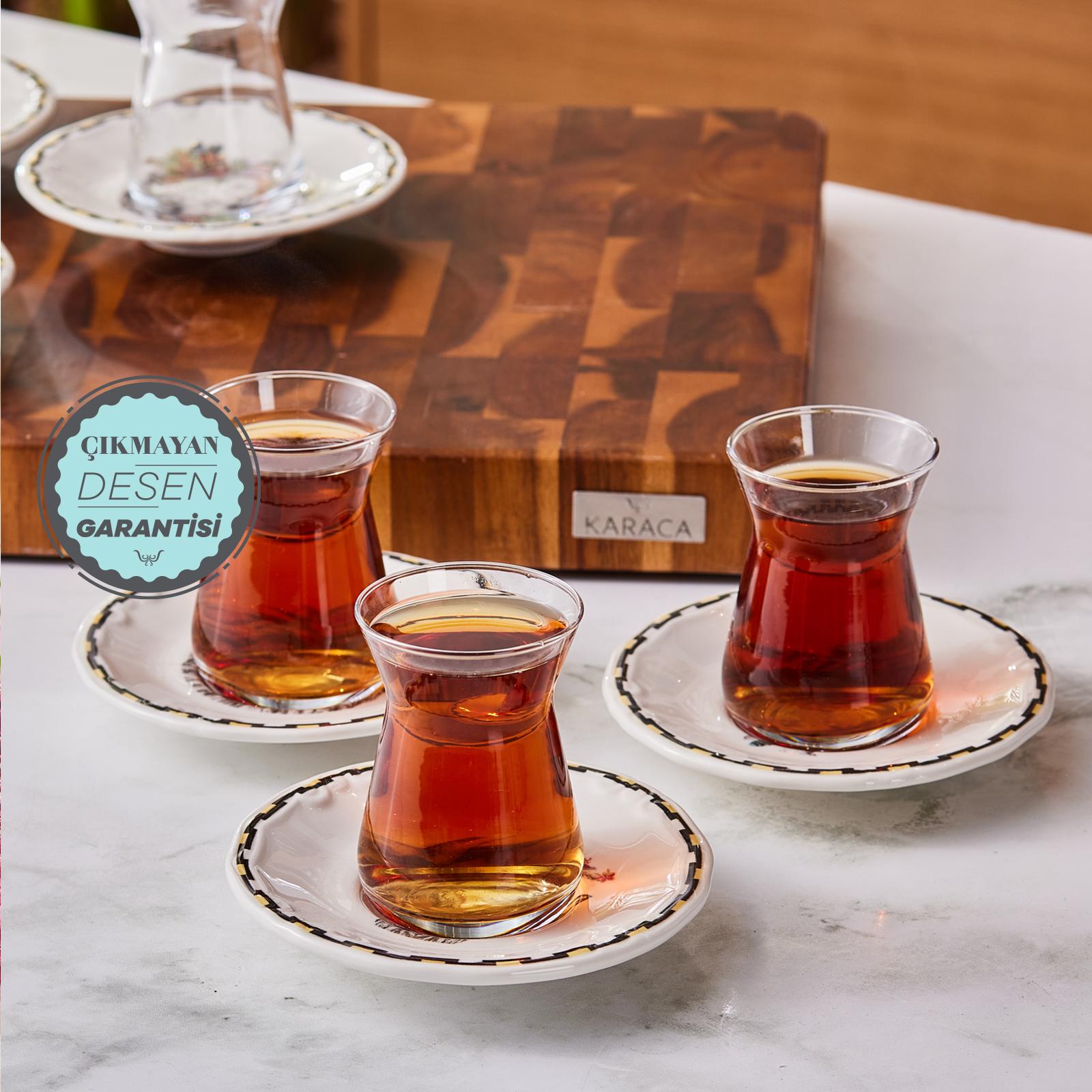 Karaca Çaça 12 Parça Çay Seti