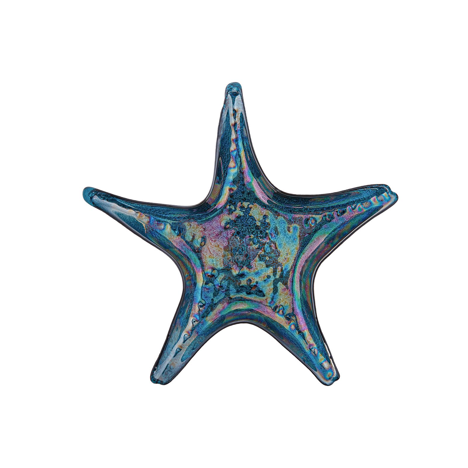 Karaca Island Sea Star Mavi 29cm Tabak