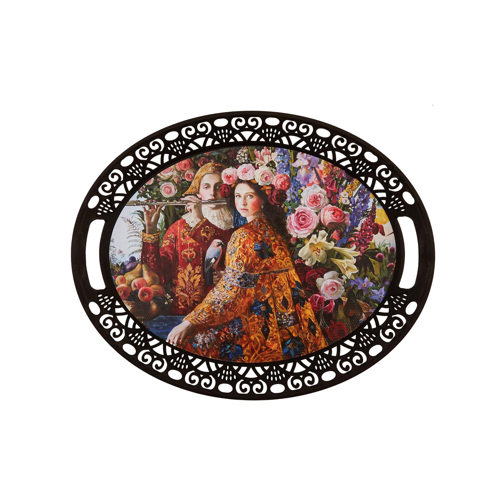 Karaca Boleyn Oval Tepsi