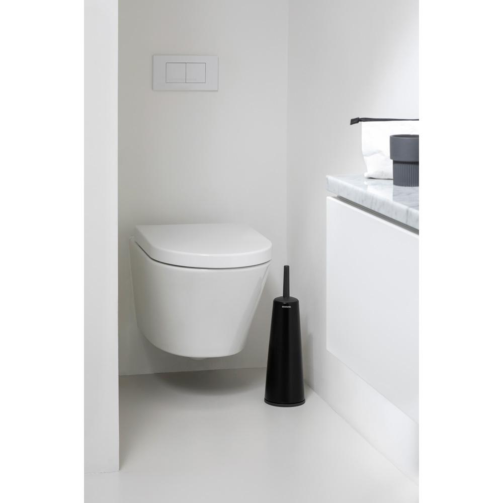 Brabantia Matt Black Tuvalet Fırçası