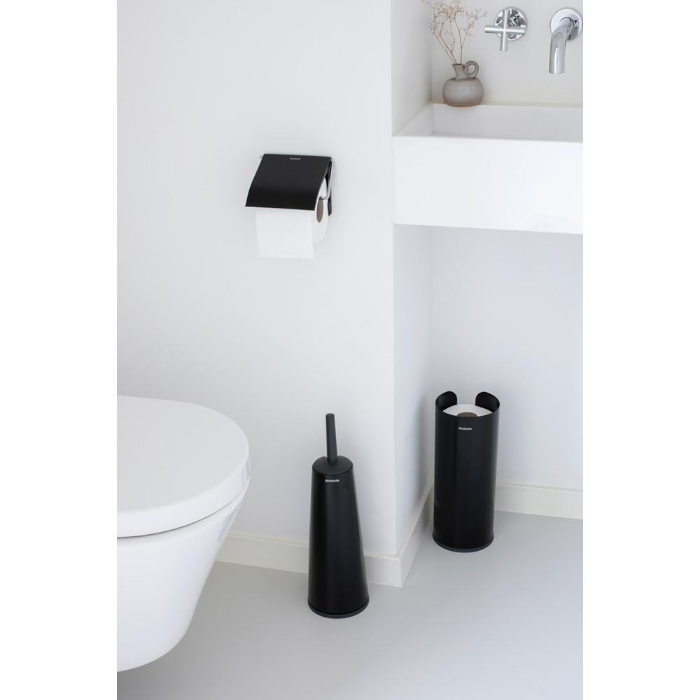 Brabantia Classic Matt Black Tuvalet Kağıdı Tutacağı