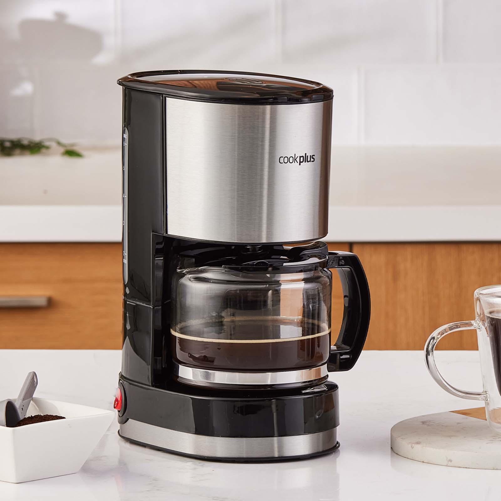 Cookplus by Karaca Coffee Keyf Filtre Kahve Makinesi Inox 601