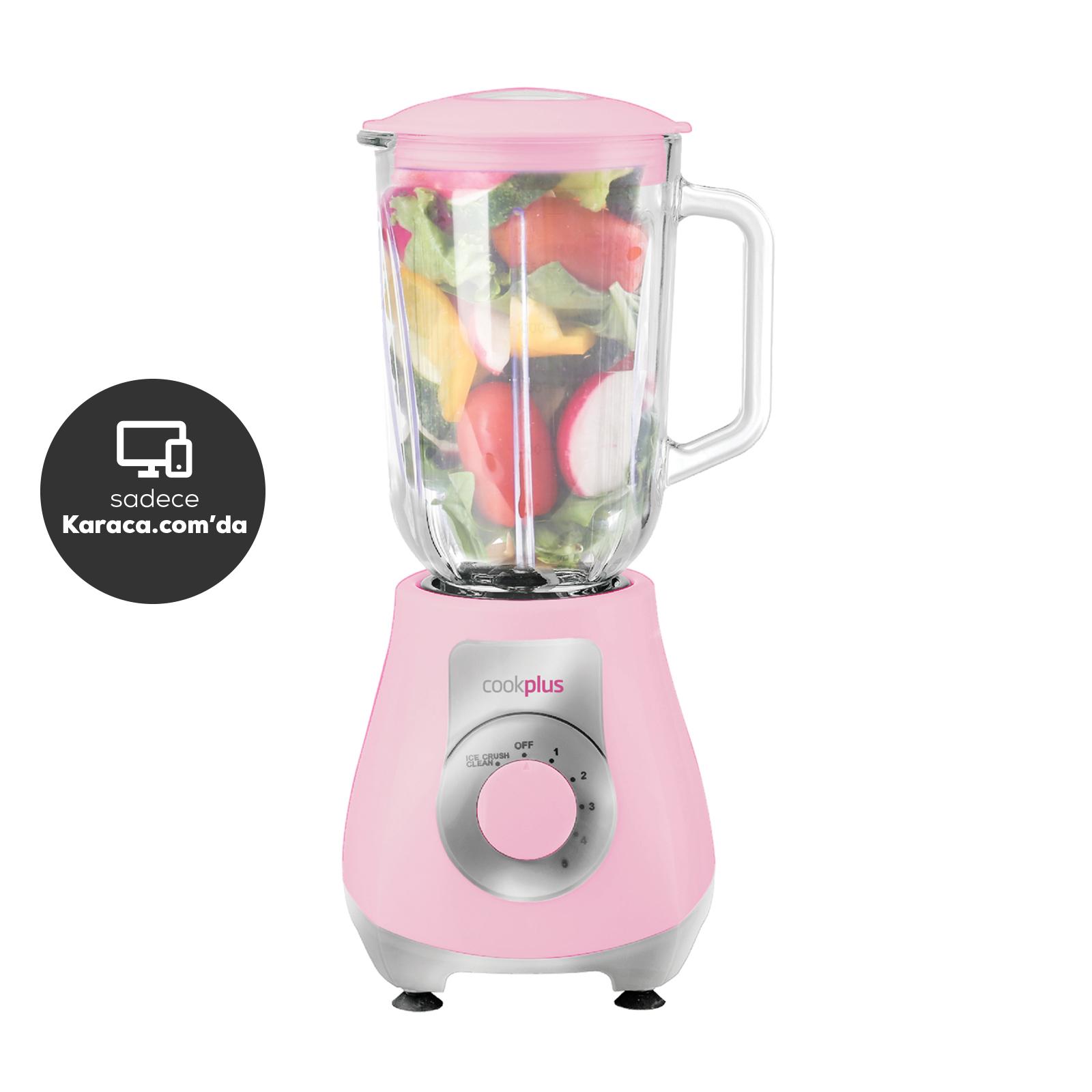 Cookplus by Karaca Smoothie Shaker Pink Blender 751 Xl