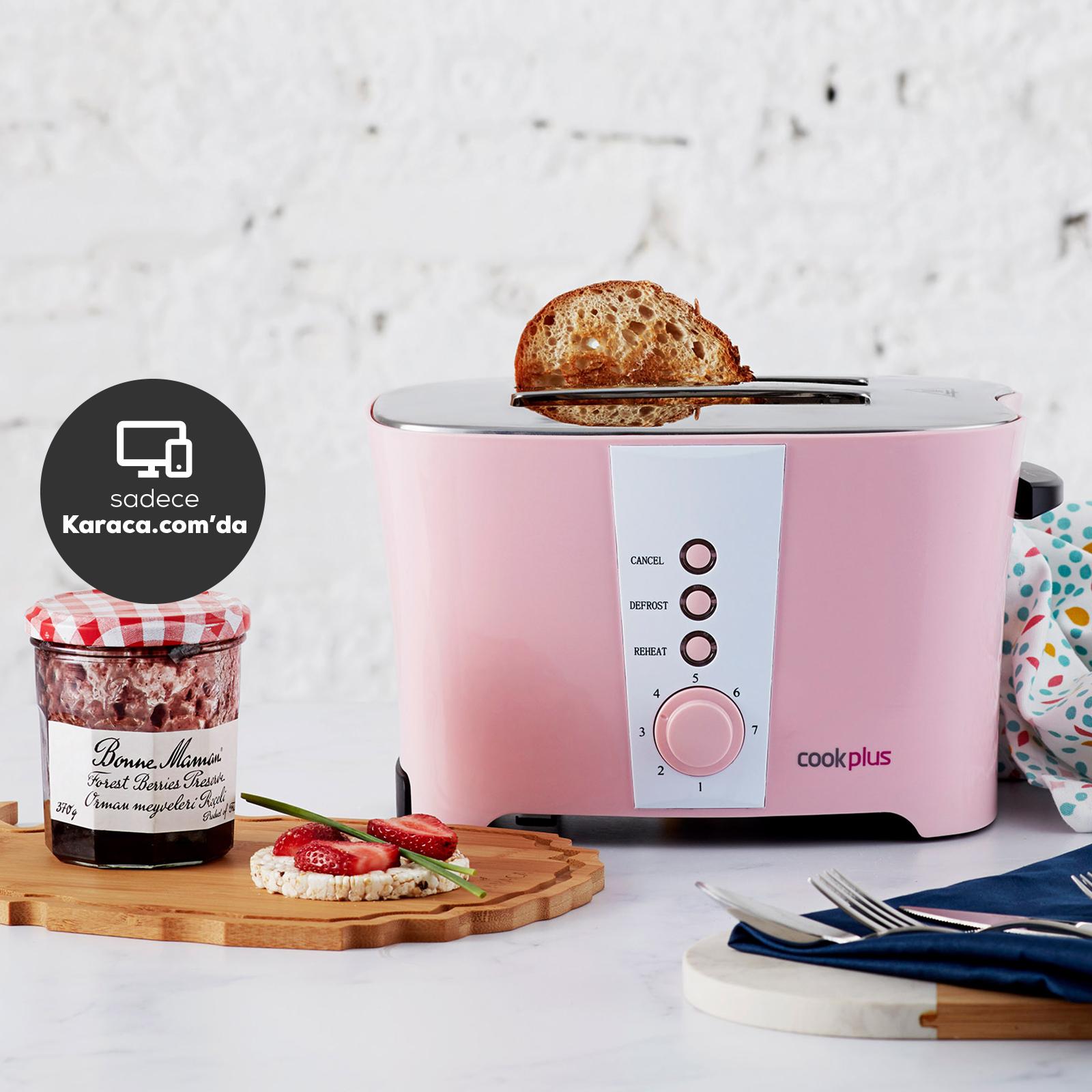 Cookplus by Karaca Rosa Ekmek Kızartma Makinesi