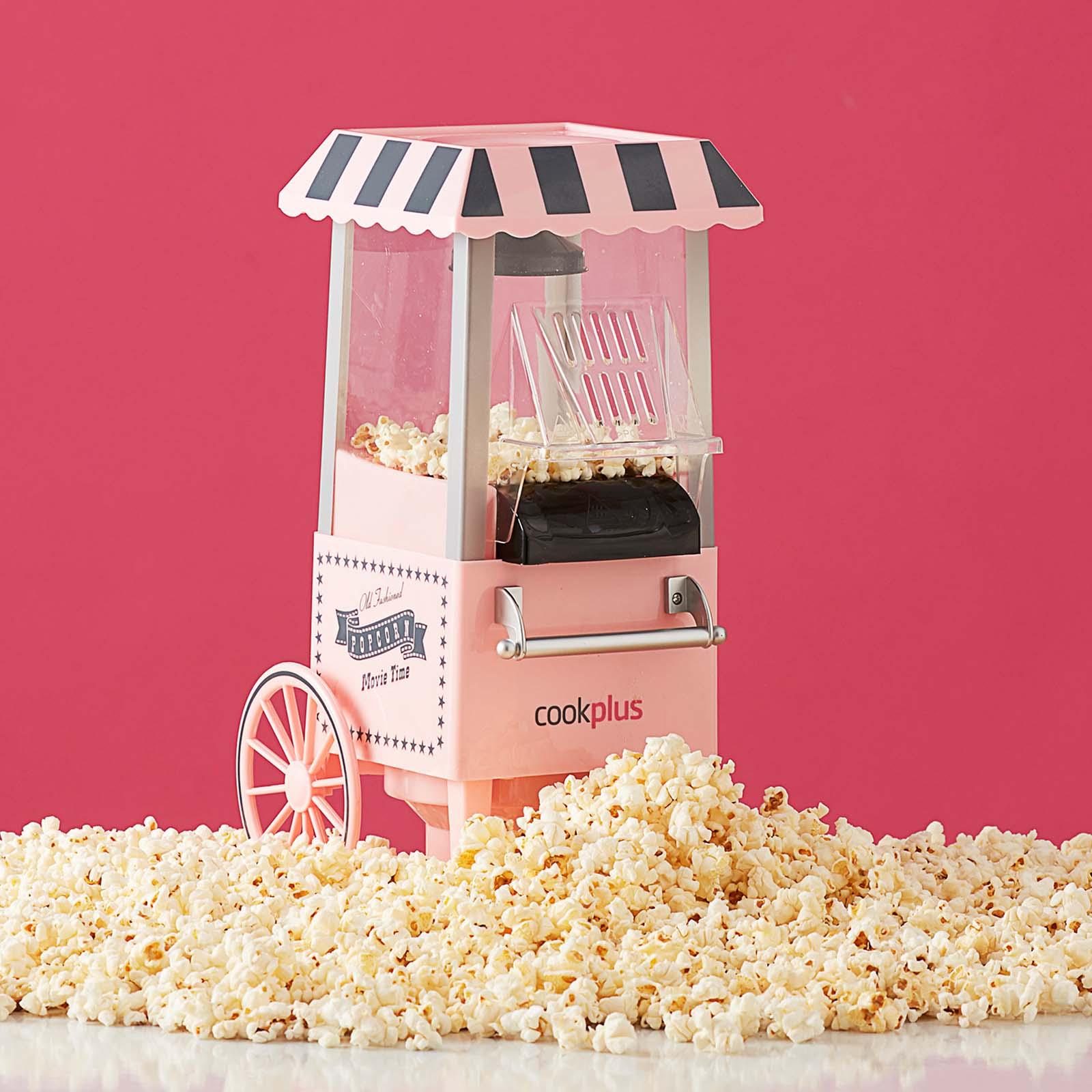 Cookplus by Karaca Pembe Mısır Patlatma Pop Corn Makinesi