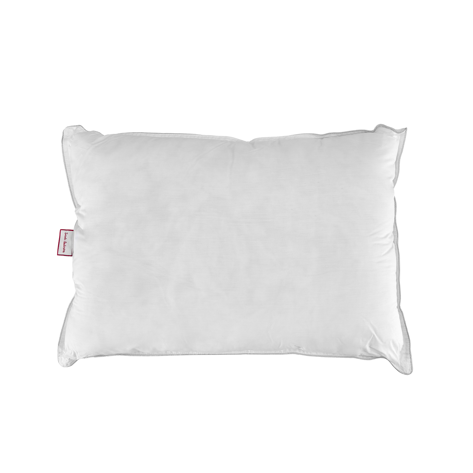Sarah Anderson Comfy Gri Biyeli Elyaf Yastık 50x70 cm