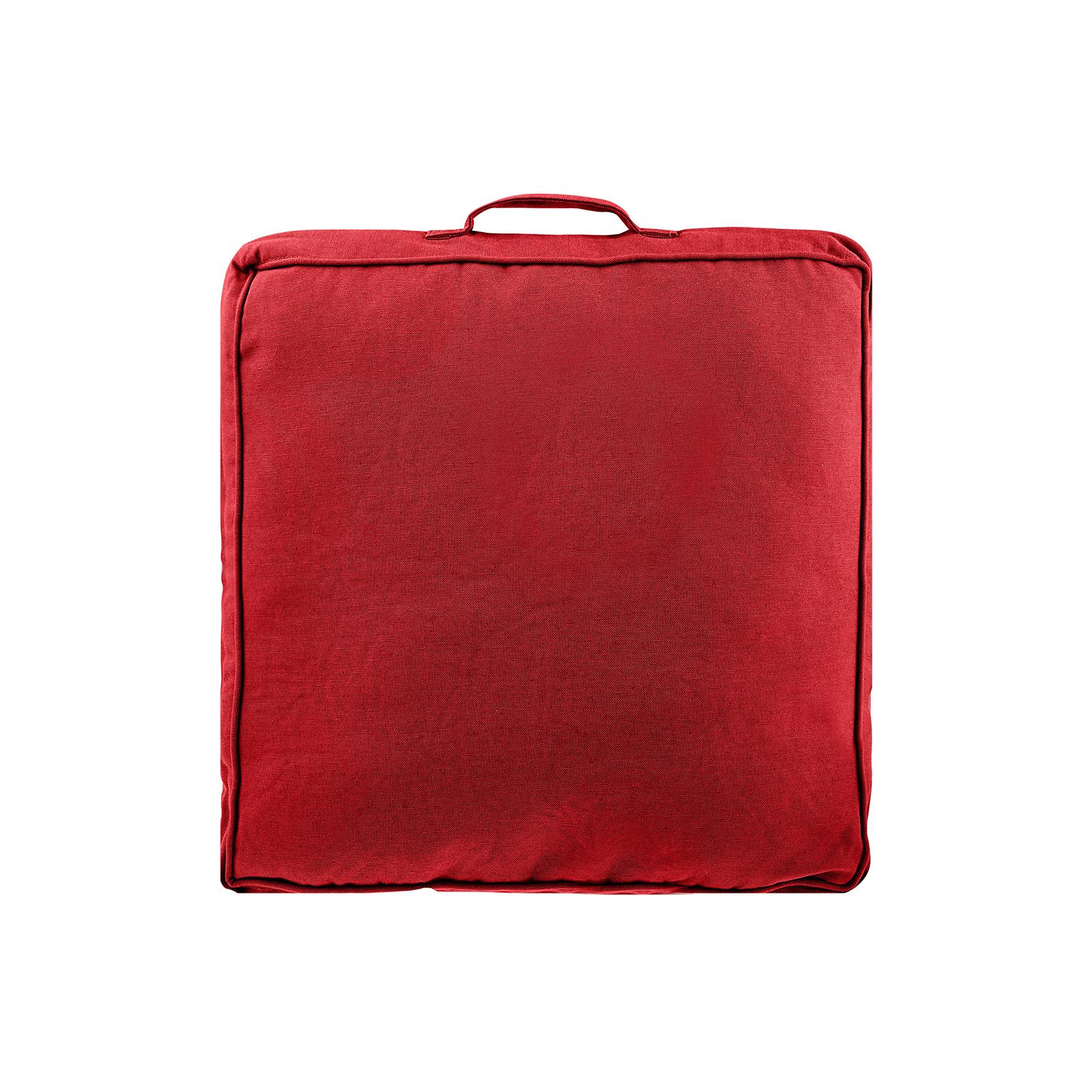 Sarah Anderson Luna Kırmızı Düz Minder 45x45 cm