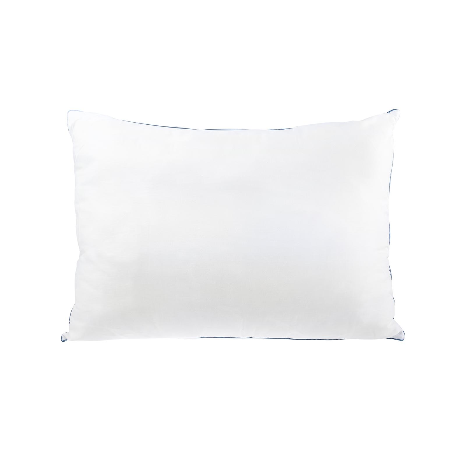 Sarah Anderson Comfy Mavi Biyeli Yıkanabilir Yastık Kılıflı Elyaf Yastık 50x70cm