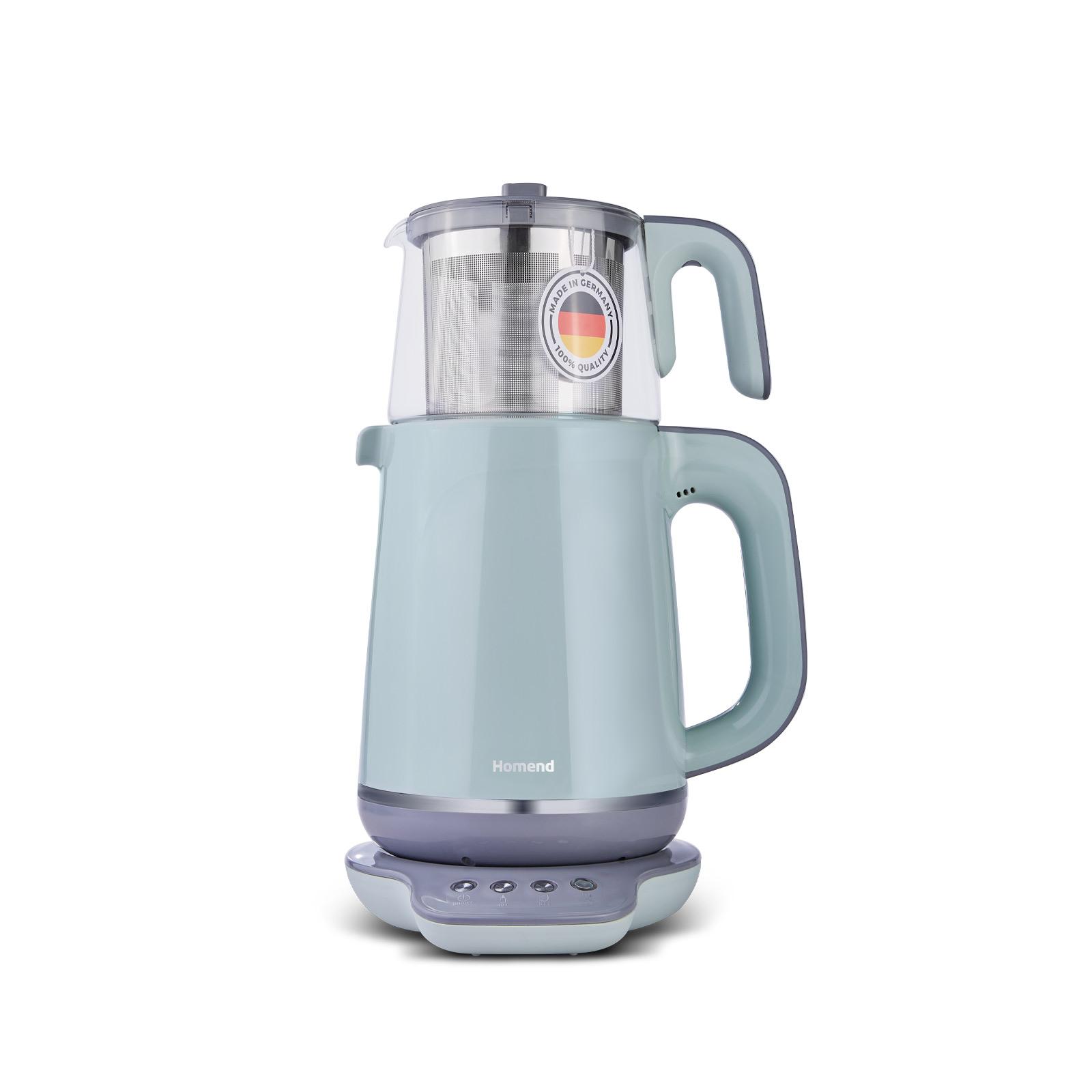 Homend Royaltea 1723h Konuşan Çay Makinesi Su Yeşili
