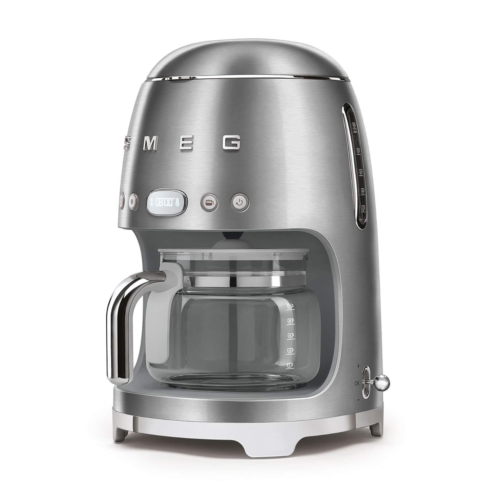 Smeg Filtre Kahve Makinesi Silver Dcf02sseu Karaca