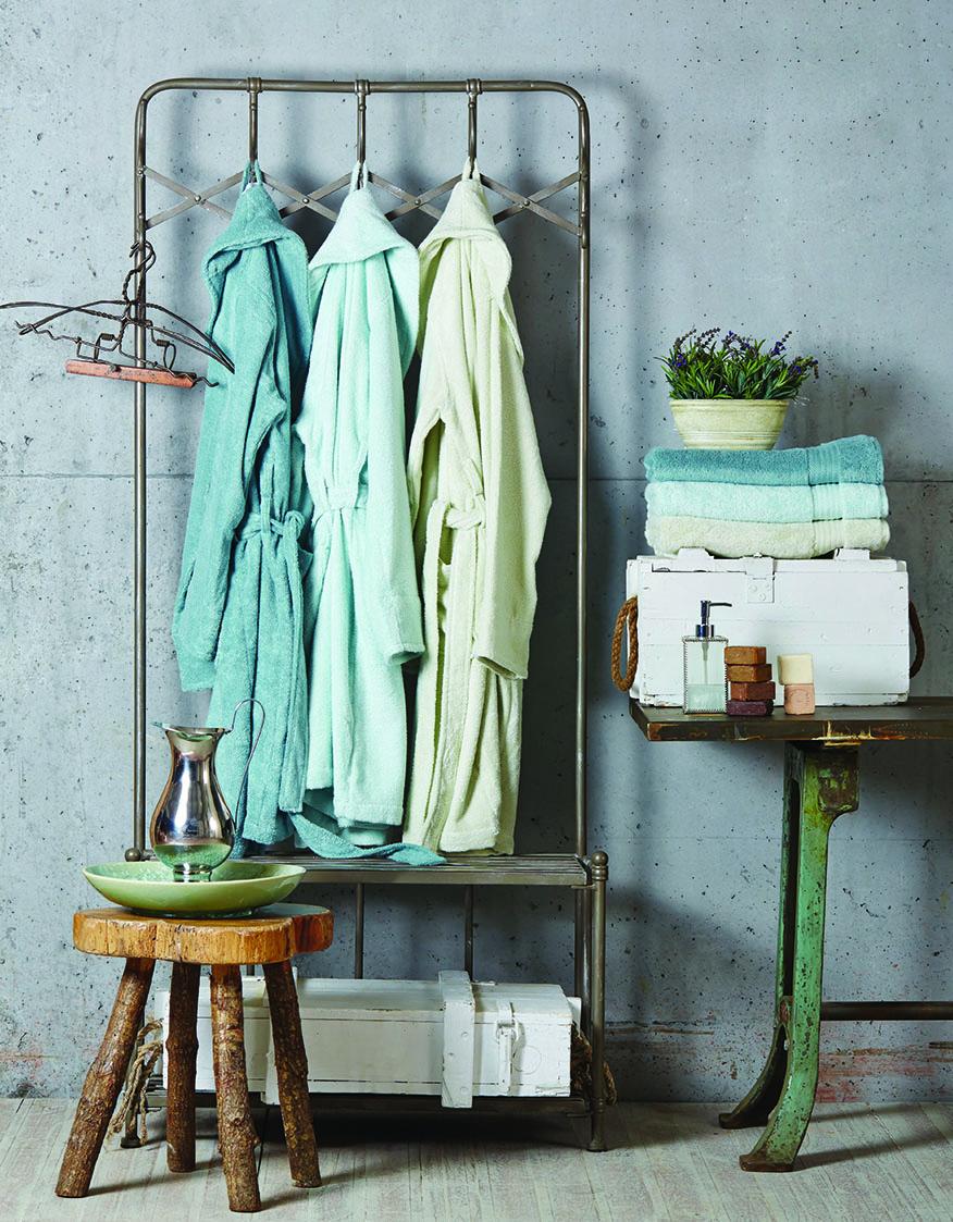Karaca Home Pure Soft Buz Mavisi S/M Bornoz