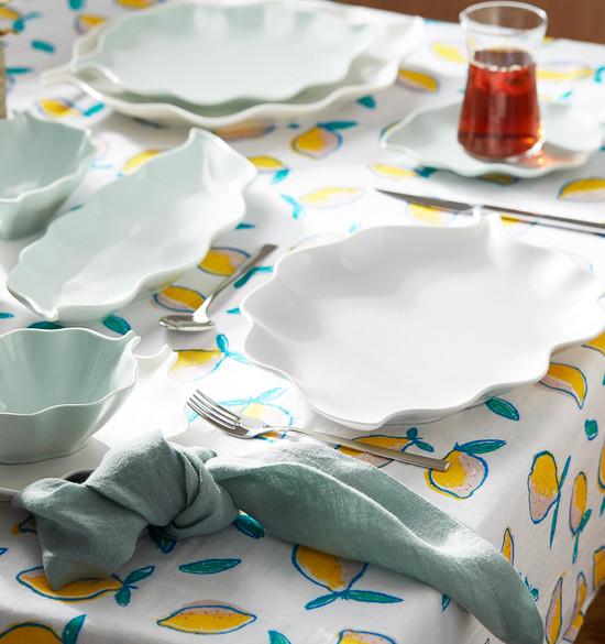 Karaca Leaf 25 Parça 6 Kişilik Kahvaltı Takımı