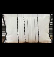 Karaca Home Pera Siyah İç Dolgulu Kırlent 30x50cm