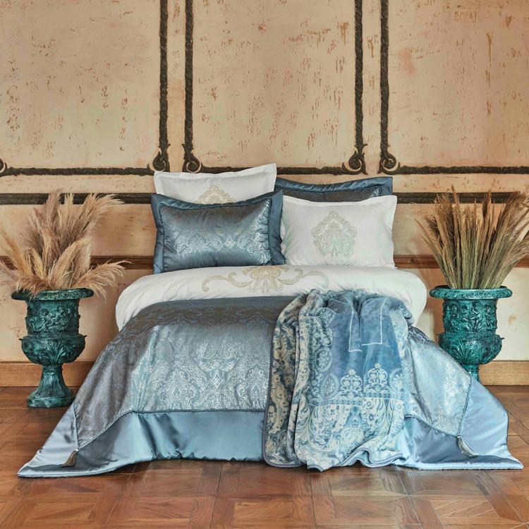 Karaca Home Ofelia Mavi 10 Parça Çeyiz Seti