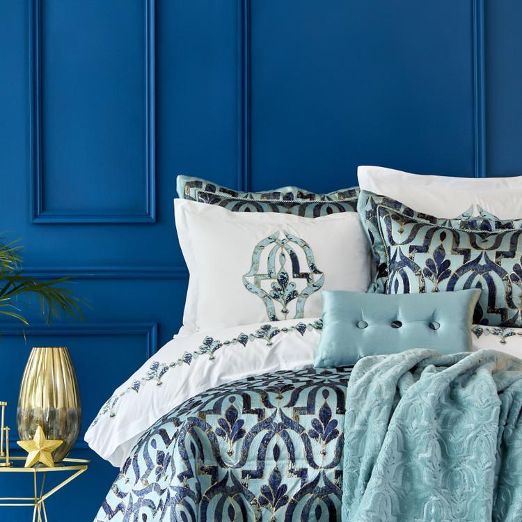 Karaca Home Morocco Blue-Gold 11 Parça Çeyiz Seti