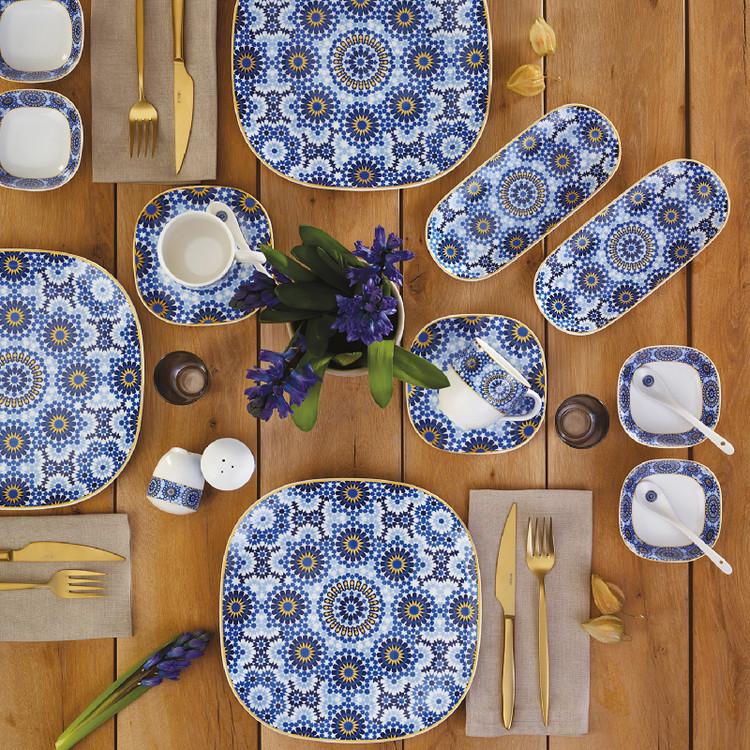 Emsan Mozaik 32 Parça 6 Kişilik Kahvaltı Seti