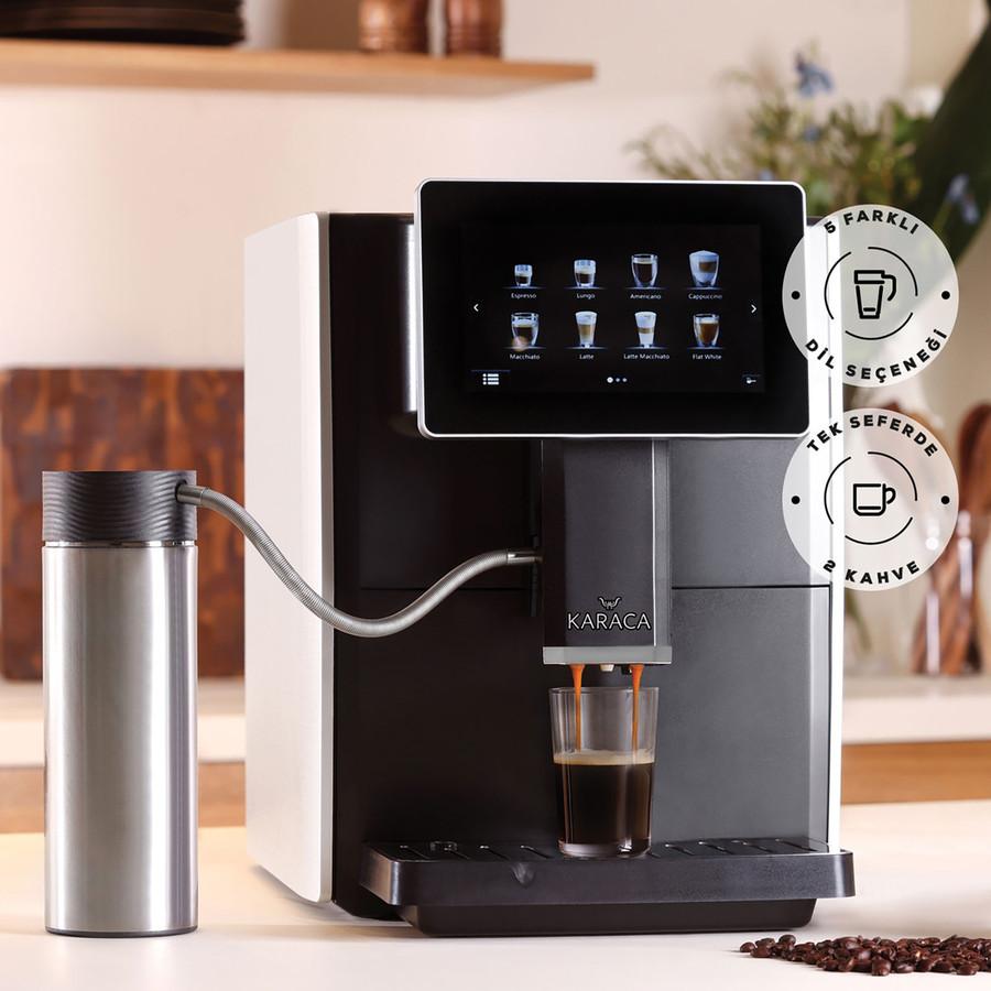 Karaca Coffee Art Tam Otomatik Espresso Capuccino Kahve Makinesi