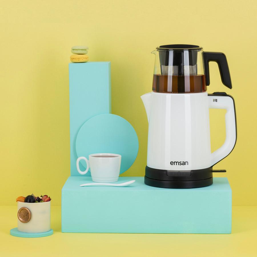 Emsan Handy Pro Beyaz Çay Makinesi