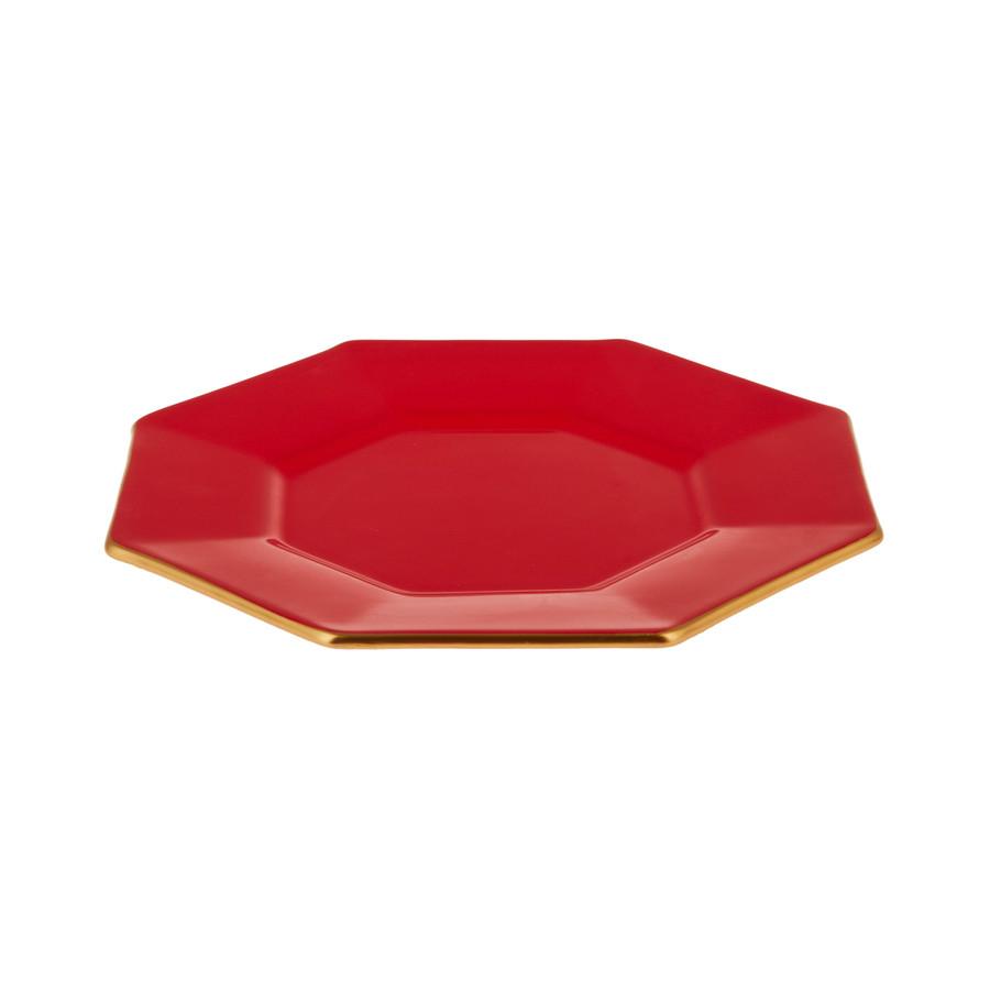 Emsan Mila 2li Sekizgen Pasta Takımı Kırmızı