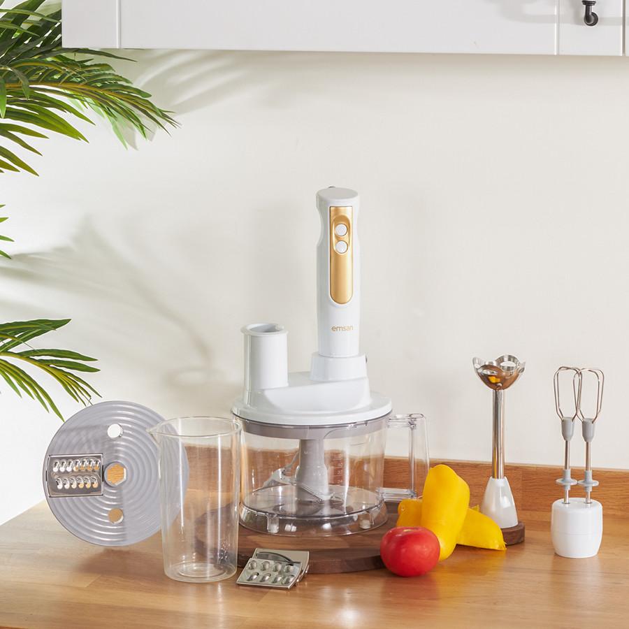 Emsan Powerpack Beyaz Mutfak Robotu