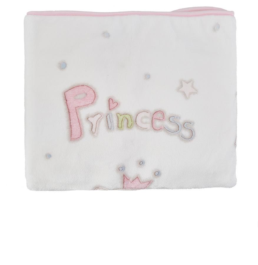 Karaca Home Princes Pudra Bebek Soft İspanyol Battaniye