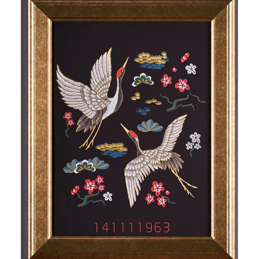 Karaca Chinese Kuşlar Uyum Sekansı Tablo 48x38cm