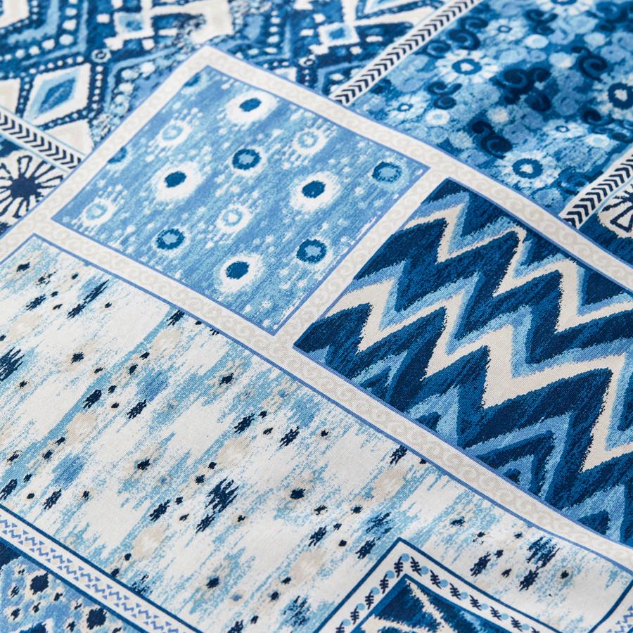 Karaca Home Pietra Mavi Pamuk Tek Kişilik Nevresim Takımı
