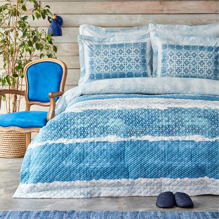 Karaca Home Mylos Mavi Tek Kişilik Complete Takım