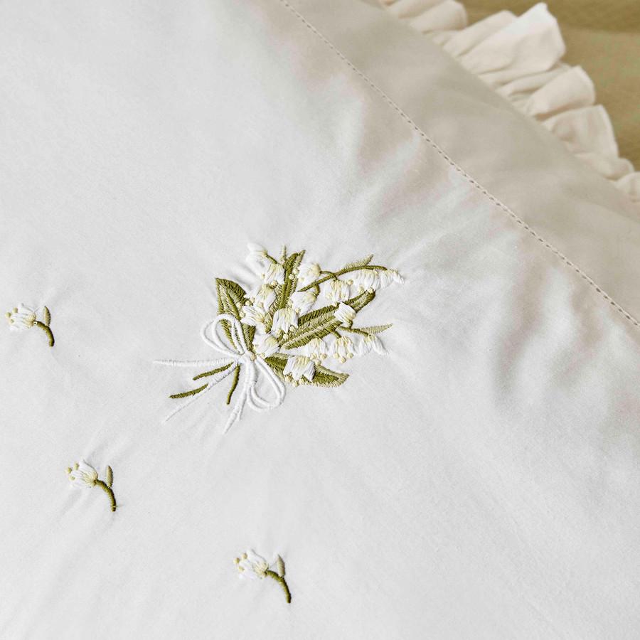 Karaca Home Lilium Yeşil Çift Kişilik Nish Set