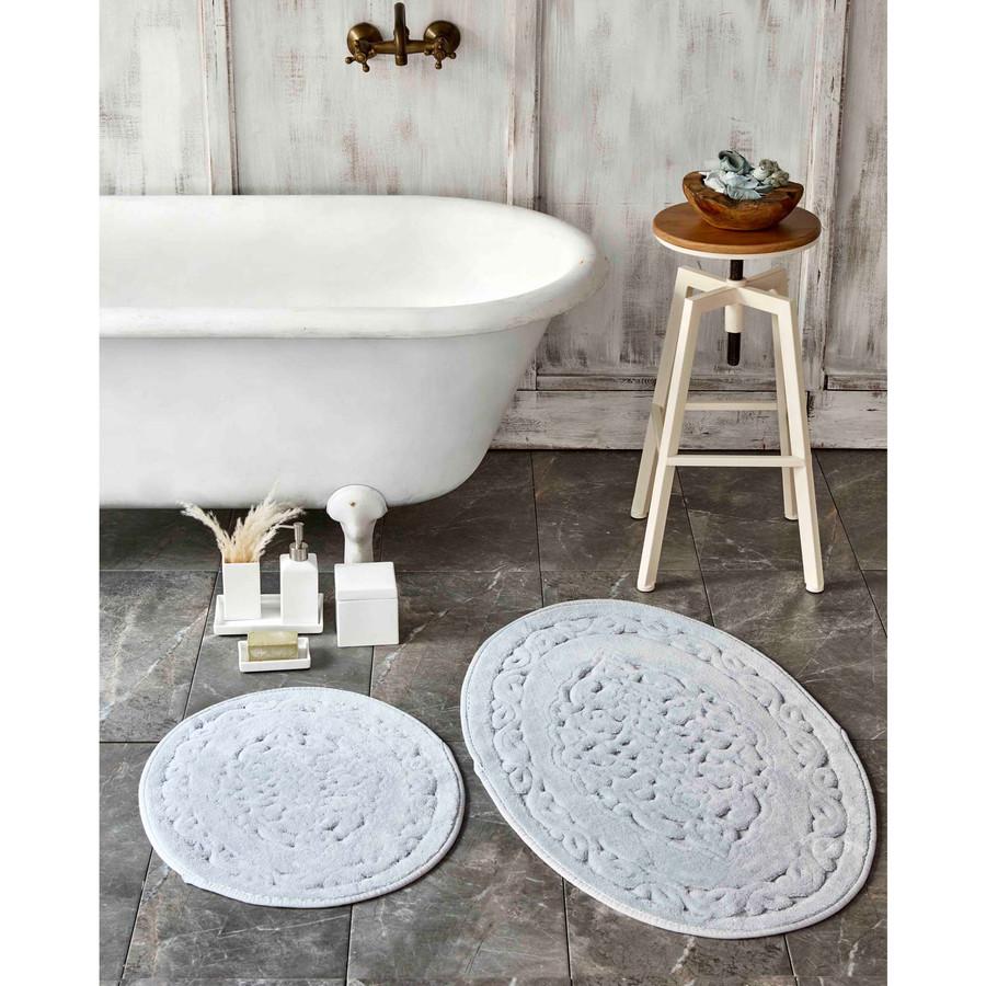 Karaca Home Obi Gri 2 Parça Banyo Paspası