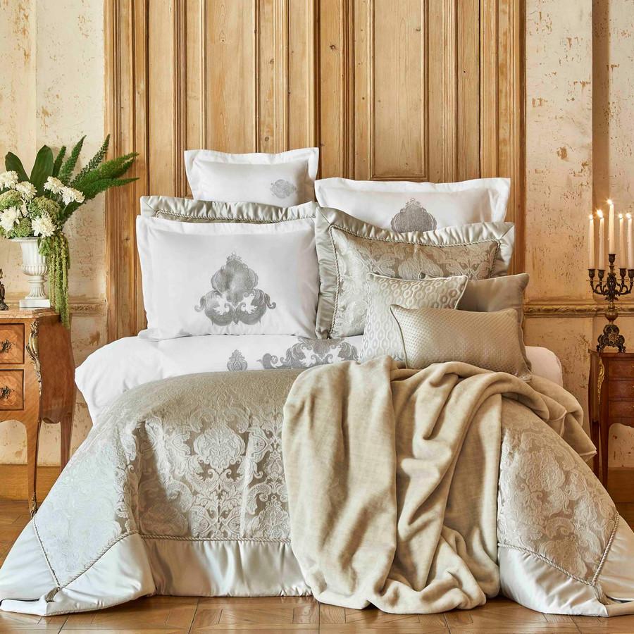 Karaca Home Cornelia Silver 6 Parça İpek Private Yatak Örtüsü