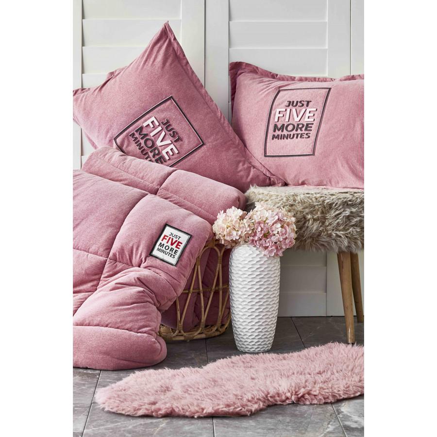 Karaca Home Toffee Pudra Çift Kişilik Cotton Comfort Set
